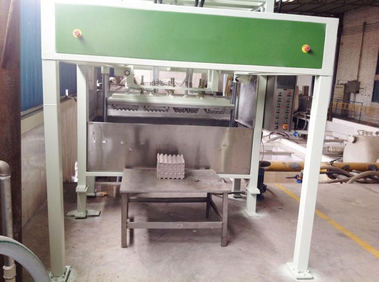 Оборудование для производства бугорчатой тары (туннельное)