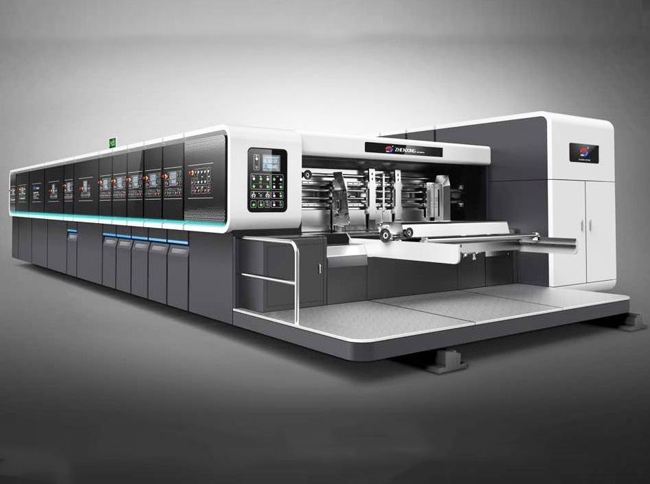 Компьютеризированная автоматическая печатная линия SUPER PRINT XFS