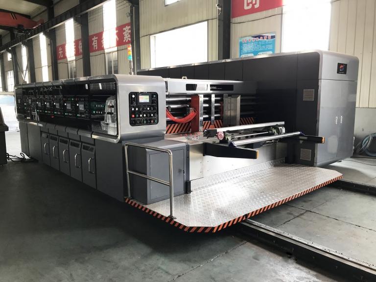 Компьютеризированная автоматическая линия для производства гофрокоробов PROFESSIONAL 250