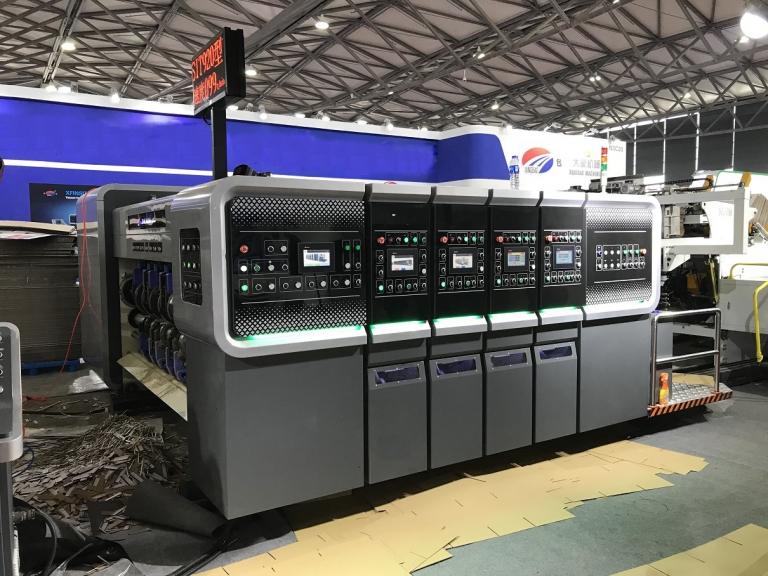 Компьютеризированная автоматическая линия для производства гофрокоробов PROFESSIONAL 450