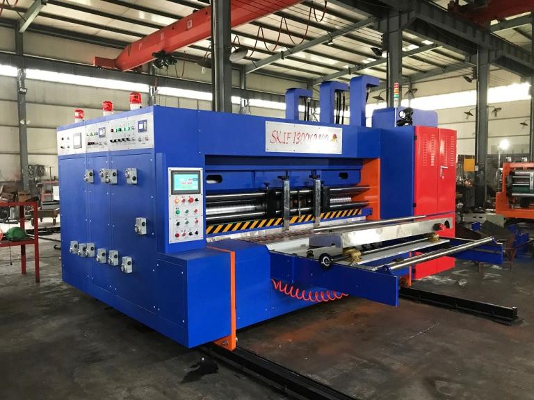 Автоматическая линия для производства гофрокоробов SKIF M